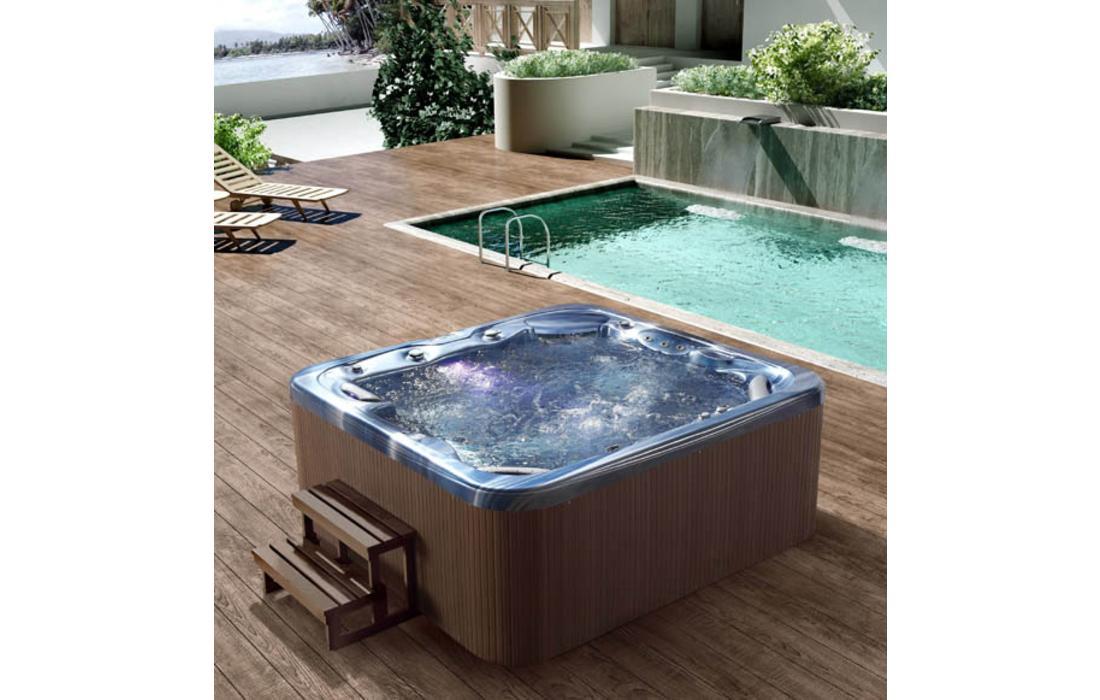 Vasche per esterno vasca da esterno per giardini e - Quanto costa una jacuzzi da esterno ...