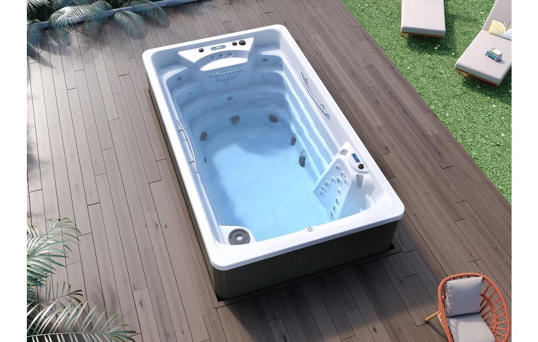 Nuoto controcorrente modello Compact Pool-generale 1