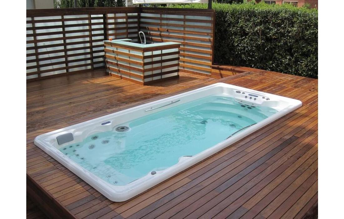 Minipiscina nuoto contro corrente antigua - Mini piscine da giardino ...