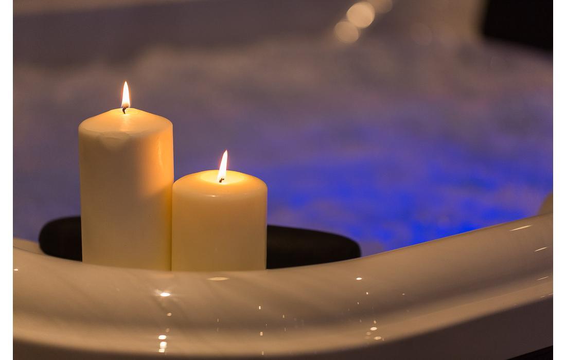 minipiscina idromassaggio manarola dettaglio candele