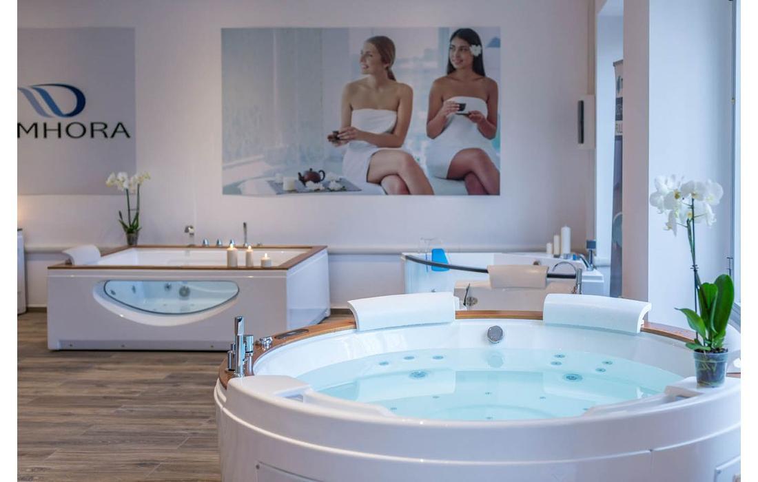 vasca idromassaggio alicudi dettaglio show room