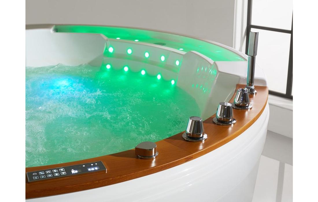 vasca idromassaggio alicudi dettaglio cromoterapia acqua