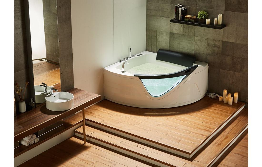 vasca idromassaggio capraia dettaglio rubinetteria
