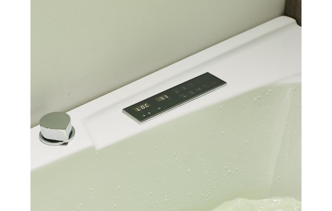 vasca idromassaggio capraia dettaglio display