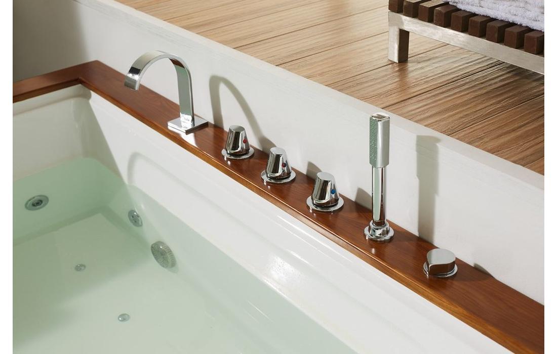 vasca idrmassaggio eolie dettaglio rubinetteria