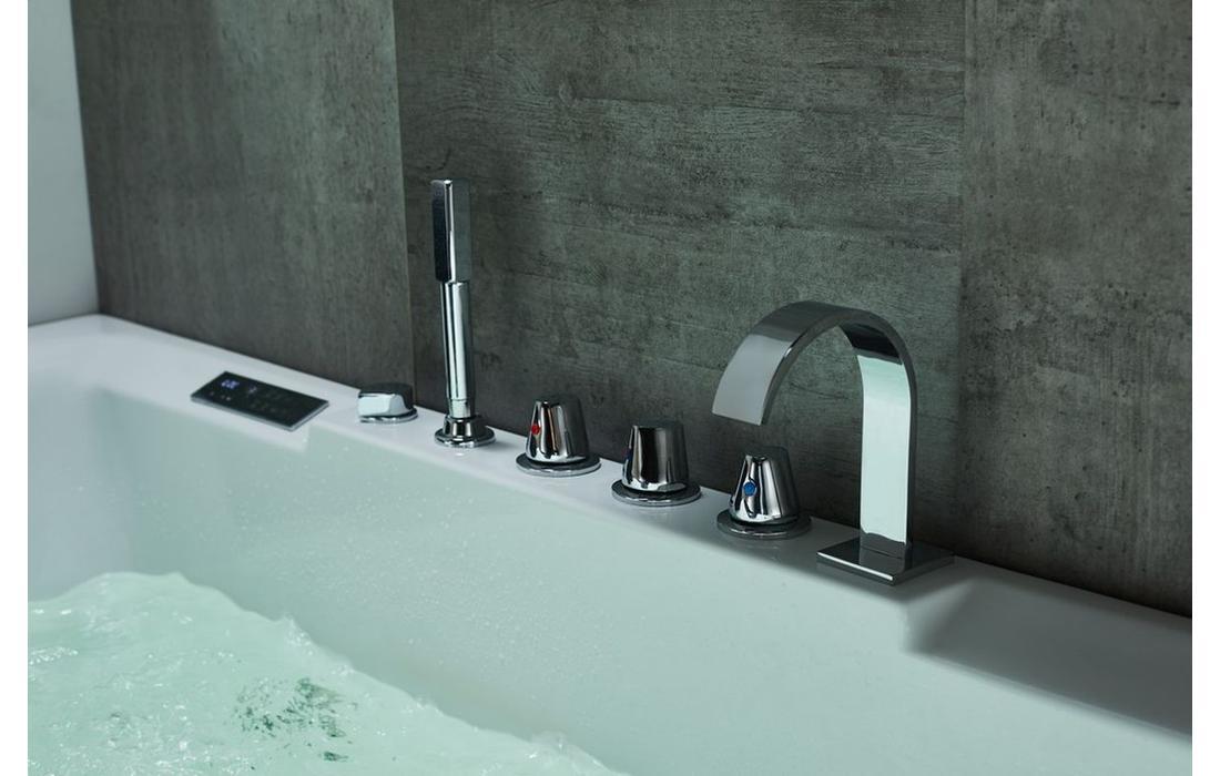 vasca idromassaggio maddalena dettaglio rubinetteria