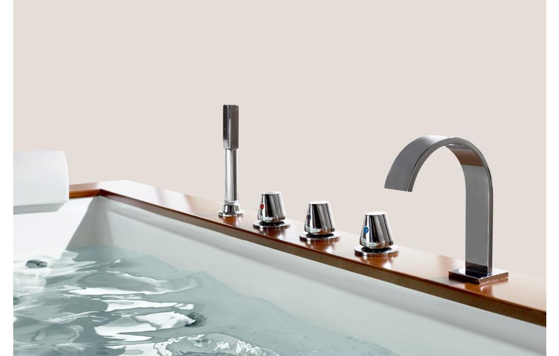 vasca idromassaggio ventotene dettaglio rubinetteria