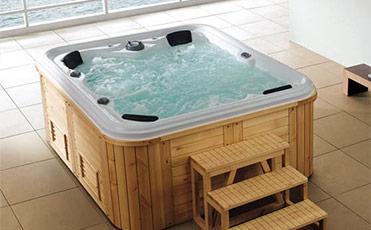 Minipiscine idromassaggio vasche idromassaggio piscine fuori terra e accessori - Piccole piscine in casa ...