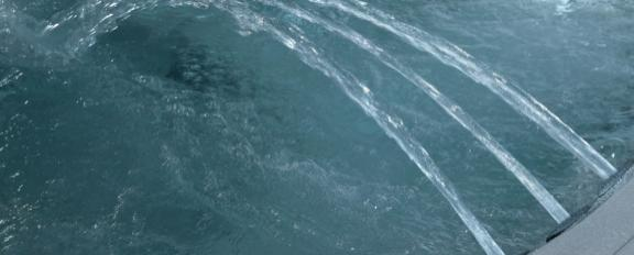 minipiscina e vasca idromassaggio
