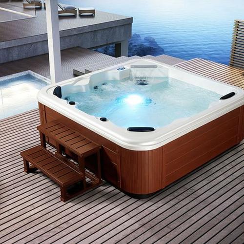 minipiscine idromassaggio. Black Bedroom Furniture Sets. Home Design Ideas